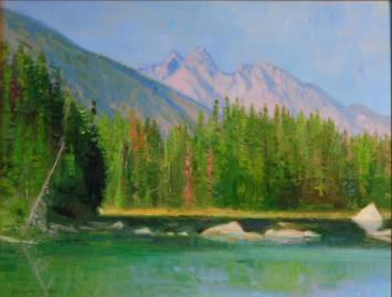 String Lake - 2008 - Oil On Canvas - 11 x 14